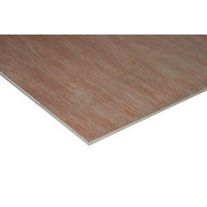 Wickes Non Structural Hardwood Plywood 6x607x2440mm