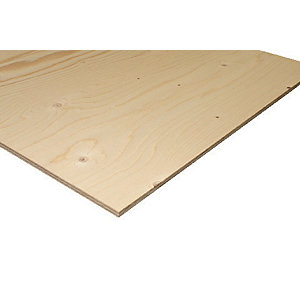 Wickes Structural Spruce Plywood CE2+ 12x1220x2440mm