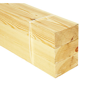 Wickes Redwood PSE 44x94x2400mm Pack 3
