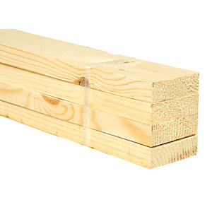Wickes Redwood PSE 20.5x69x3600mm Pack 4