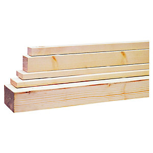 Wickes Planed All Round Softwood Timber 18x119x3600mm