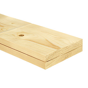 Wickes Whitewood PSE 18x144x3600mm Pack 2