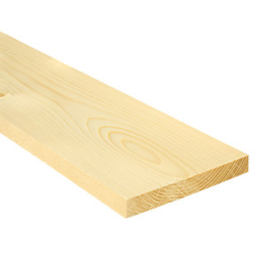 Wickes Whitewood PSE 18x144x3600mm Single
