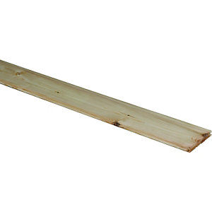 Wickes Planed Tongue And Groove Nordic Pine Flooring 20x144x2050mm
