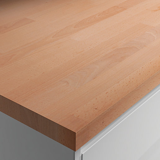 Wickes worktop solid wood beech mm