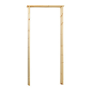 Wickes Softwood Rebated Door Casing 33 x 106mm x 2m