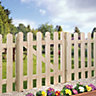Wickes Palisade Arched Top Timber Gate Kit 890x865mm
