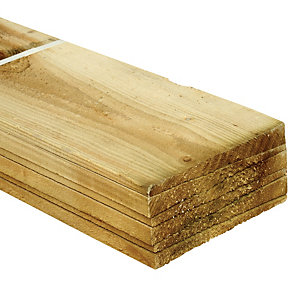 Wickes Feather Edge Fence Board 150mmx1.8m 6 Pack