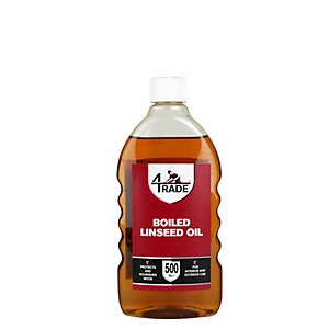 4Trade Boiled Linseed Oil 500ml