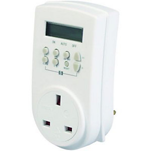 Wickes 7 Day Hi-Load Digital Timer