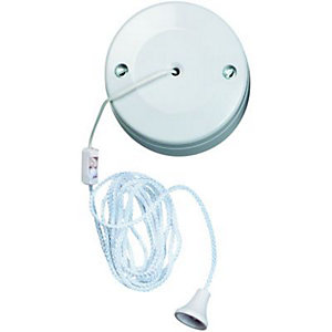 Wickes 6A Ceiling Switch 2 Way