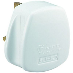 Wickes/Electrical & Lighting/Switches & Sockets/Wickes 3AMP Fuse Plug