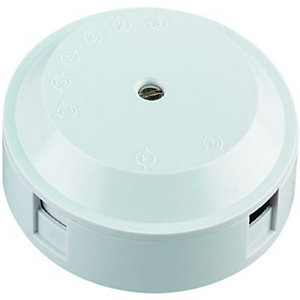 Wickes Junction Box 4 Terminal 20A White