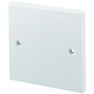 Wickes Blanking Plate 1 Gang White