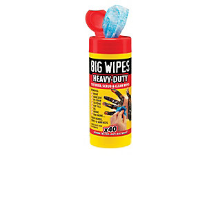 Big Wipes Heavy Duty Tub of 40