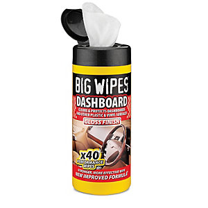 Big Wipes Auto Perf Wipes Dashbd Gloss