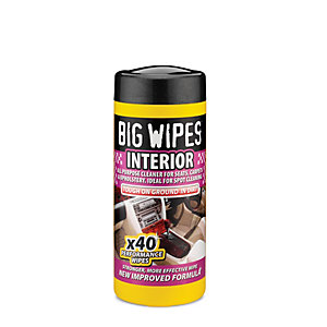 Big Wipes Auto Perf Wipes Interior