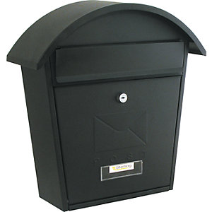 Sterling MB06BK Classic 2 Black Post Box