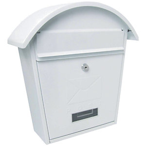 Sterling MB06 Classic 2 White Post Box