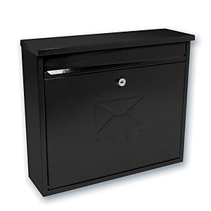 Sterling MB02BK Elegance Black Post Box