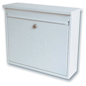 Sterling MB02 Elegance White Post Box