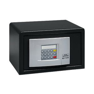 Burg-wachter Pointsafe Freestanding Electronic Home Safe 6.7 Litre Black 205mm x 285mm x 185mm