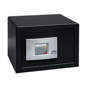 Burg-wachter Pointsafe Freestanding Electronic Home Safe 20.5 Litre Black 305mm x 355mm x 260mm