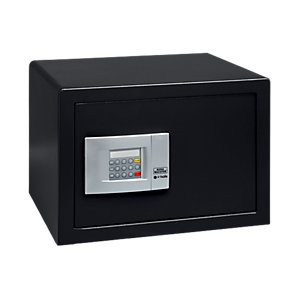 Burg-wachter Pointsafe Freestanding Electronic Home Safe 38.8 Litre Black 355mm x 447mm x 325mm