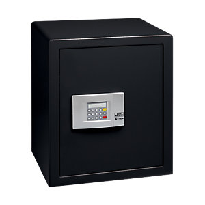 Burg-wachter Pointsafe Freestanding Electronic Home Safe 57.9 Litre Black 355mm x 421mm x 505mm