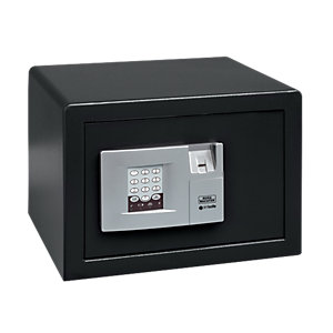 Burg-wachter Pointsafe Freestanding Electronic Home Safe with Fingerscan 20.5 Litre Black 305mm x 355mm x 260mm