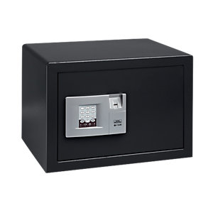 Burg-wachter Pointsafe Freestanding Electronic Home Safe with Fingerscan 38.8 Litre Black 355mm x 447mm x 325mm