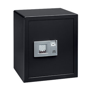 Burg-wachter Pointsafe Freestanding Electronic Home Safe with Fingerscan 57.9 Litre Black 355mm x 421mm x 505mm