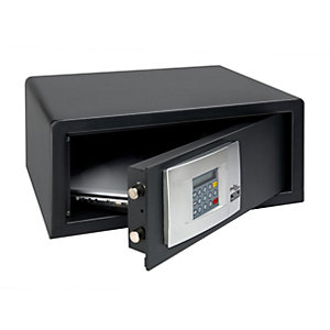 Burg-wachter Pointsafe Lap Freestanding Electronic Laptop Safe 15.2 Litre Black 385mm x 450mm x 205mm