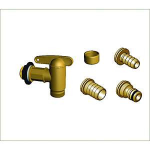 Wickes Aqua Quick Universal Water Butt Tap 3/4in