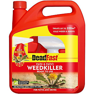 Deadfast Path and Patio Weedkiller 4L
