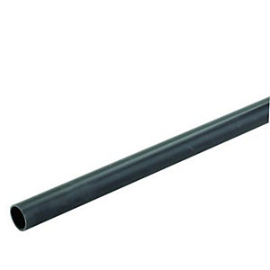 Wickes Round Conduit Black 20mmx2m
