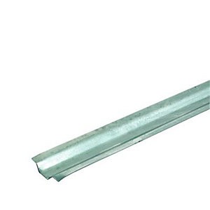 Wickes Galvanised Steel Channelling 12mmx2m 10 Pack