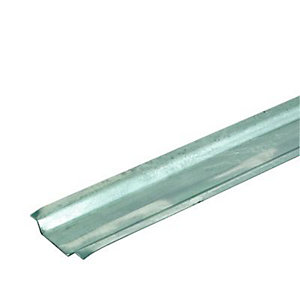 Wickes Galvanised Steel Channelling 25mmx2m 10 Pack