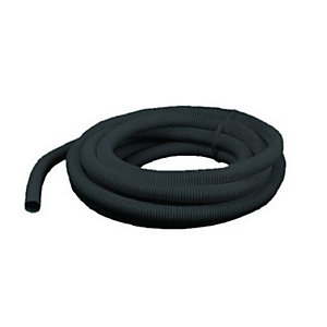 Wickes Corrugated Conduit Black 20mmx5m