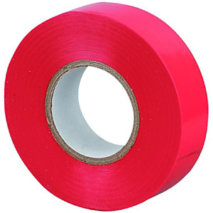 Wickes Insulation Tape 20m Red 10 Pack