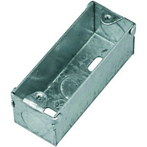 Wickes Architrave Metal Box 1 Gang
