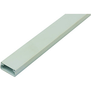 Wickes Self Adhesive Mini Trunking White 18x9mmx2m