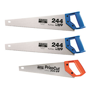 Bahco Triple Pack Saws 22in & 14in