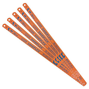 Bacho 32TPI Hacksaw Blades 12in Pack 5