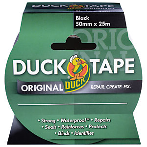 Duck Tape Original Black 50mmx25m