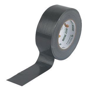 Duck Tape Original Black 25m x 50mm