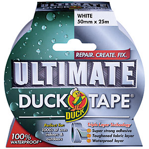 Duck Tape Ultimate White
