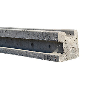 Supreme Concrete Corner Slotted Fence Post 8' 125mm x 125mm x 2440mm