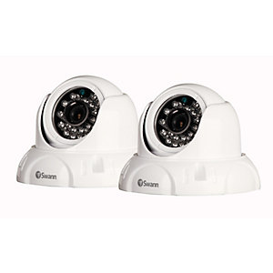 Swann SWPRO736PK2UK High Resolution Dome Security Camera 2 Pack