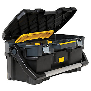 Stanley 197506 Tool Tote & Power Tool Organiser Toolbox 24in
